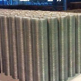 Welded Wire Mesh / Welded Fabric Ribbed And Cold Rolled Ribbed Wire