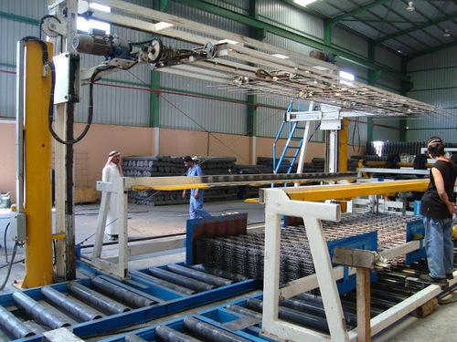 Concrete Reinforcement Mesh Plants